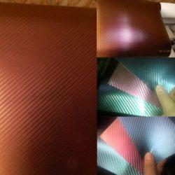 3D flip-flop karbon fólia bordó bronz