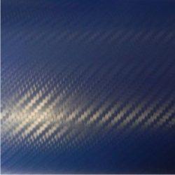3D kék karbon fólia matrica