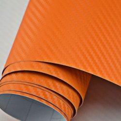 3D narancs karbon fólia matrica