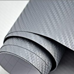 3D antracit karbon fólia matrica