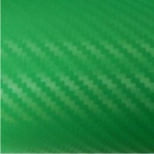 3D zöld karbon fólia matrica