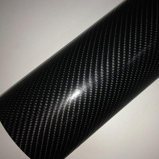 4D fekete karbon fólia matrica