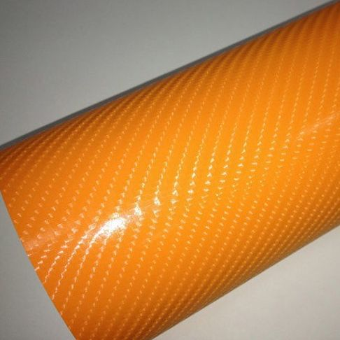 4D narancs karbon fólia matrica