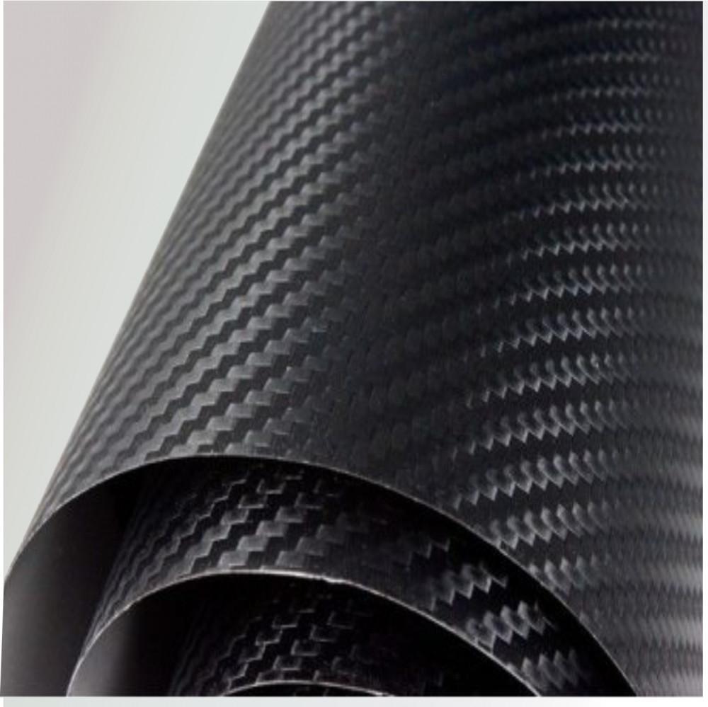Légcsatornás 3D fekete karbon fólia matrica