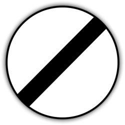 Mozgó járműre vonatkozó tilalom feloldása, közlekedési tábla