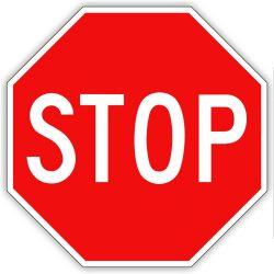 """Stop"" tábla"