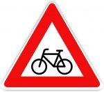 """Biciklisek"" tábla"