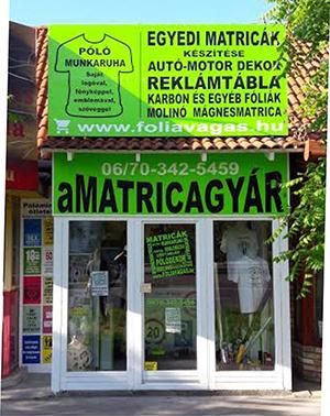 aMatricagyár www.foliavagas.hu