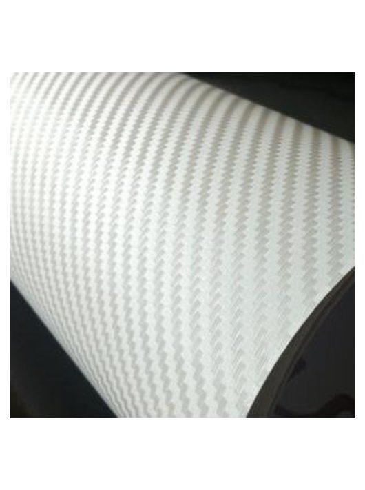 3D fehér karbon fólia matrica