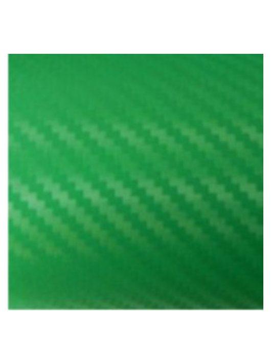3D zöld karbon fólia fényes XVII. kerület