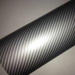 4D ezüst  karbon fólia matrica
