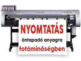 Egyedi matrica nyomtatás