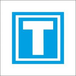 tanuló vezető mágnes matrica T betű