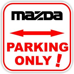 Parking only, közlekedési tábla
