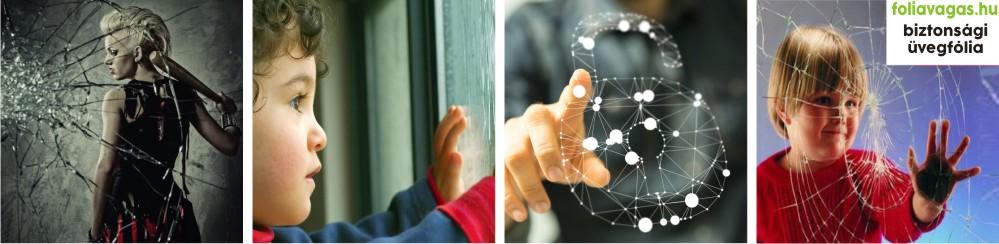 üvegtörés elleni fólia