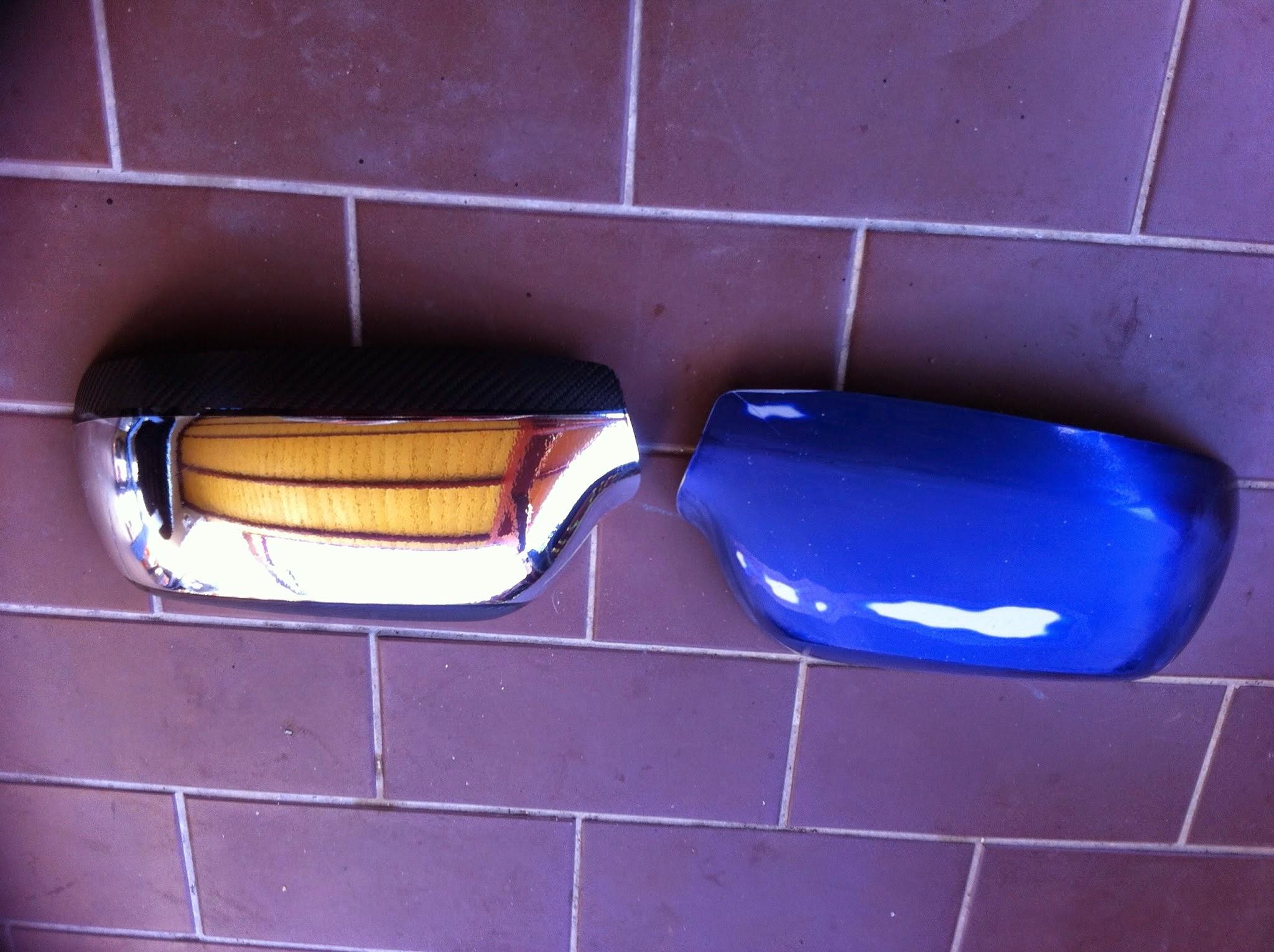 Mazda tükörborítás króm fóliával