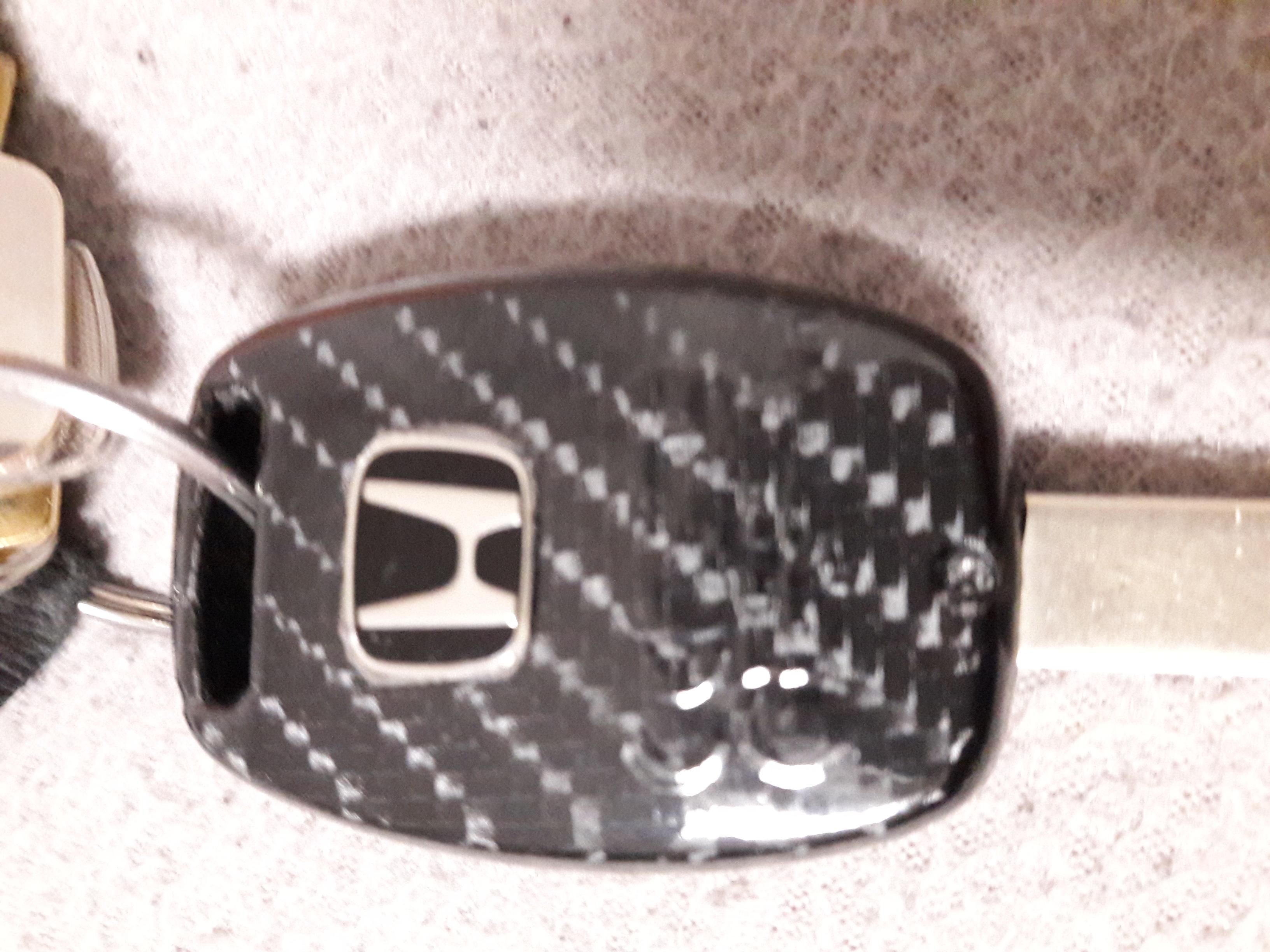 Honda kulcsház karbon-dekor